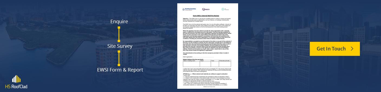 EWS1 Form & Process at HS RoofClad